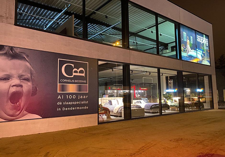 Nieuwe showroom Dendermonde